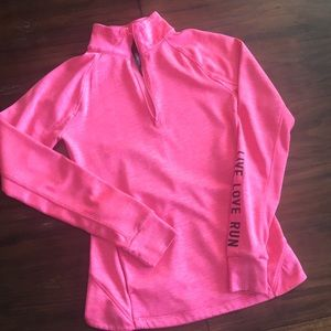 Aeropostale pink pullover, size xs
